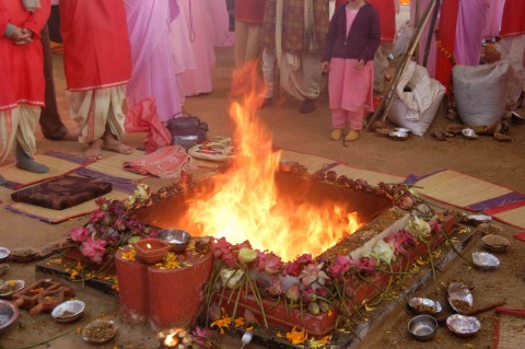 Rituals, Fire And Knowledge